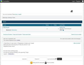 blackcops.forumotion.com screenshot