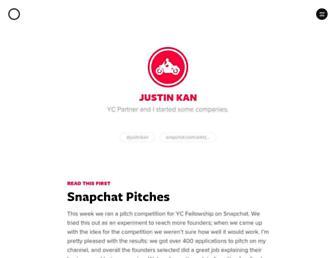 Thumbshot of Justinkan.com