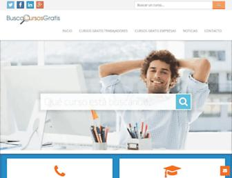 buscocursosgratis.com screenshot