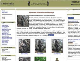 theghilliesuits.com screenshot