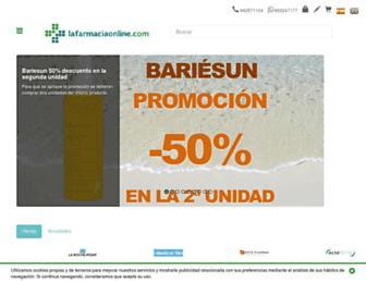 lafarmaciaonline.com screenshot