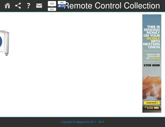 remote-control-collection.com screenshot