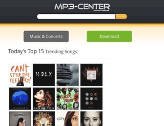 mp3-center.org screenshot