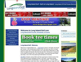 longislandgolf.com screenshot