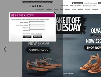 Thumbshot of Bakersshoes.com