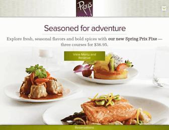 Thumbshot of Roysrestaurant.com