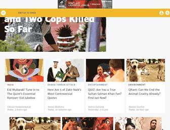 thequint.com screenshot