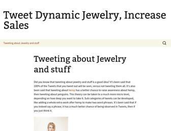 tweetdynamics.com screenshot