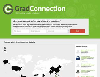 Thumbshot of Gradconnection.com