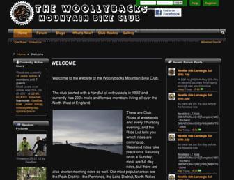 thewoollybacks.co.uk screenshot