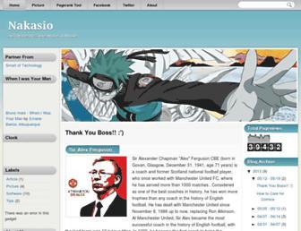 nakasio.blogspot.com screenshot