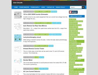 avecircuits.blogspot.com screenshot