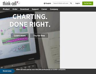 Thumbshot of Think-cell.com