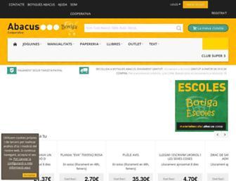 online.abacus.coop screenshot