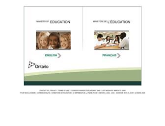 edu.gov.on.ca screenshot