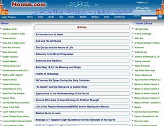 momin.com screenshot