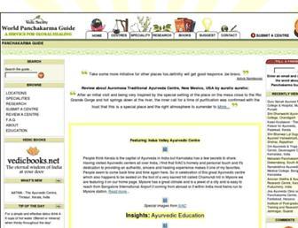 panchakarma.com screenshot