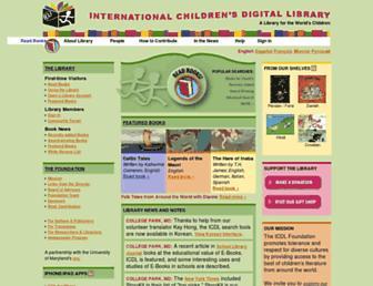 Thumbshot of Childrenslibrary.org