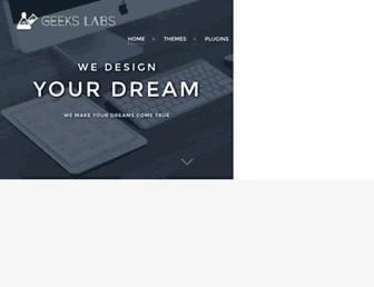 Screenshot for geekslabs.com