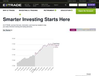 Thumbshot of Etrade.com