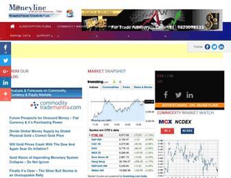 moneyline.co.in screenshot