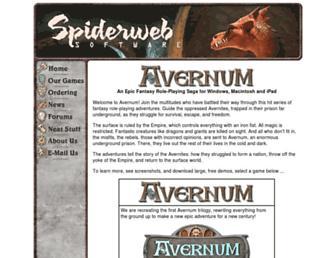 avernum.com screenshot