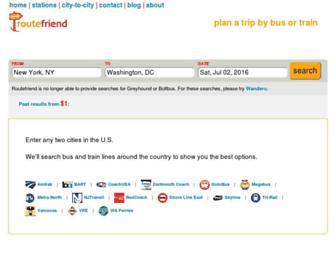Thumbshot of Routefriend.com