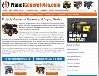 planetgenerators.com screenshot