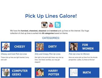Thumbshot of Pickuplinesgalore.com