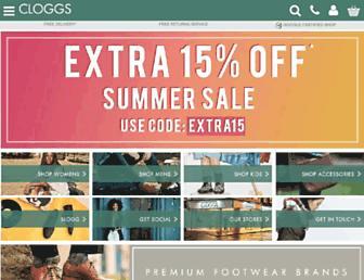 Thumbshot of Cloggs.co.uk