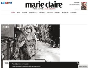 marieclaire.co.uk screenshot