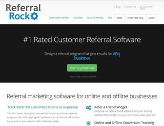 referralrock.com screenshot