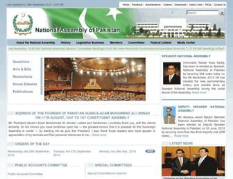 na.gov.pk screenshot