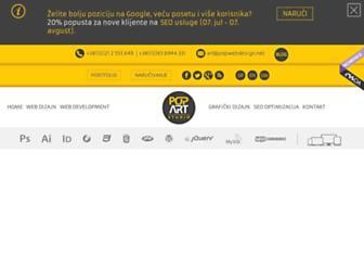 popwebdesign.net screenshot