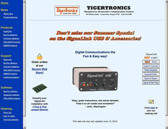 tigertronics.com screenshot