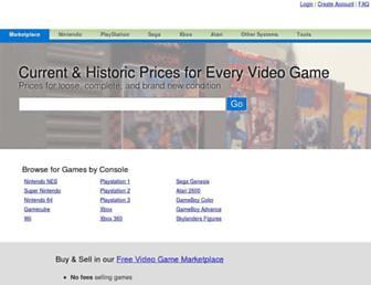 pricecharting.com screenshot