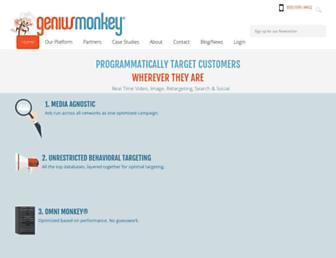 geniusmonkey.com screenshot
