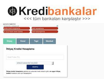 kredibankalar.com screenshot