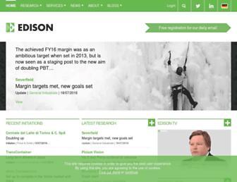 edisoninvestmentresearch.com screenshot