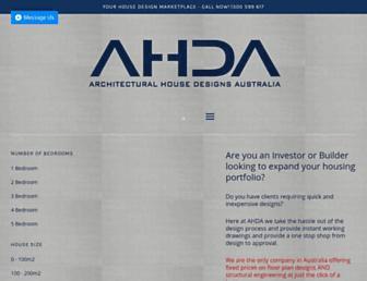architecturalhousedesignsaustralia.com.au screenshot