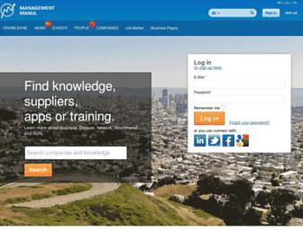 managementmania.com screenshot