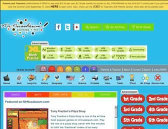 mrnussbaum.com screenshot