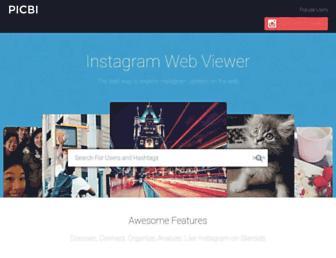 picbi.com screenshot