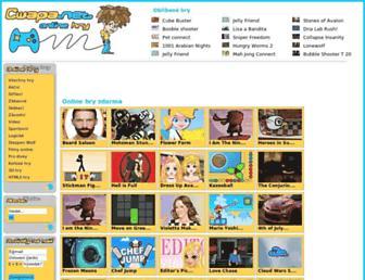 Main page screenshot of cwapa.net