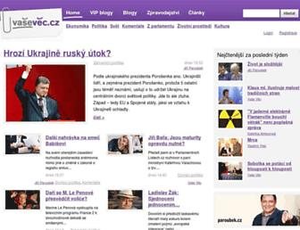 Thumbshot of Vasevec.cz