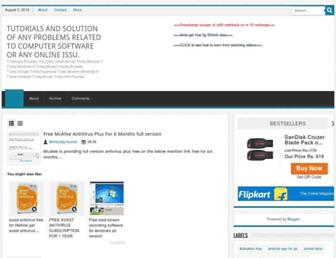 trickmypc.blogspot.com screenshot