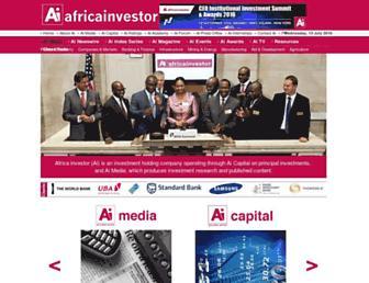 africainvestor.com screenshot