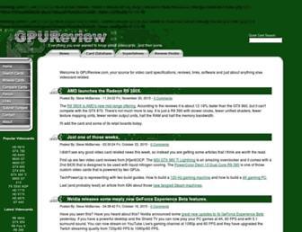 Thumbshot of Gpureview.com
