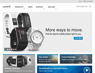 Thumbshot of Garmin.com