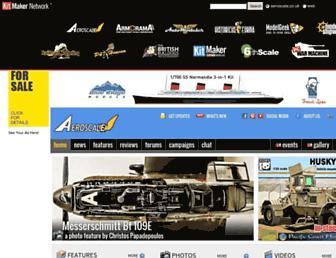 aeroscale.co.uk screenshot